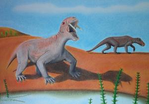 В Бразилии обнаружили останки саблезубого травоядного динозавра