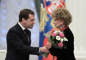 Медведев: Гурченко была по-настоящему народной артисткой