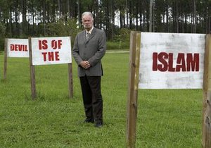 Пастор Джонс проведет антиисламский протест у крупнейшей мечети США