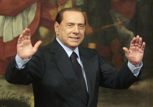 Первое заседание суда над Берлускони продлилось пять минут
