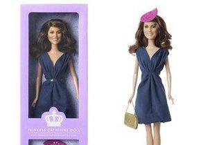 Дизайнерская кукла Кейт Миддлтон поступила в продажу