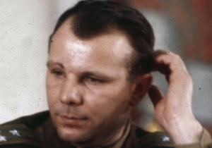 В центре Киева собрали рекордно большой паззл с изображением Гагарина
