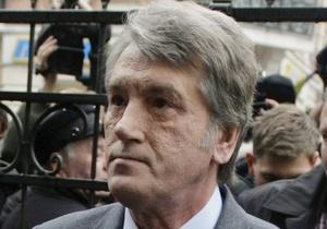 У Ющенко хотят крови