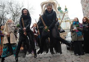 Фотогалерея: Киевский шабаш. На Андреевском спуске прошел Парад ведьм