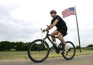 Буш примет участие в велопробеге с ветеранами войн в Афганистане и Ираке