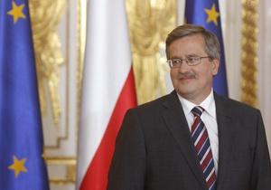 СМИ сравнили президента Польши с Бушем из-за ошибок по истории и орфографии