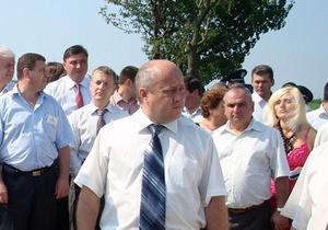 Партия регионов заявила, что избивший рыбаков экс-глава РГА является членом Фронту змін
