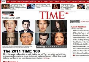 В список самых влиятельных людей по версии Time попал основатель Facebook и сын Каддафи