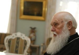 Филарет: Создание единой поместной православной церкви в Украине неизбежно