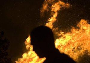 Поляк поджег автомобиль приятеля из-за киевской студентки