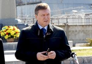 Янукович: Человечество будет всегда помнить ликвидаторов аварии на ЧАЭС