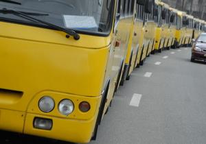 В киевских маршрутках могут появиться контролеры