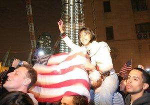 В США празднуют гибель бин Ладена: тысячи людей вышли на улицы