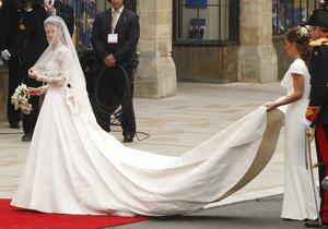 В Китае копии свадебного платья Кейт Миддлтон начали продавать менее чем через двое суток после свадьбы