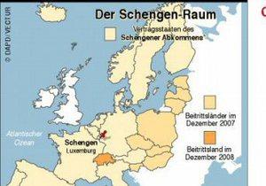 В Еврокомиссии согласовали уточнения к Шенгенскому соглашению