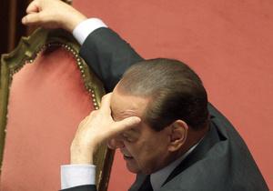 Берлускони не может спать из-за гражданской войны в Ливии