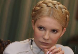 Тимошенко уверена, что Европейский суд освободит Луценко