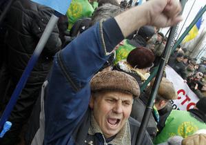 В мае в десяти украинских городах пройдут акции протеста против действующей власти