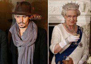 Исследование: Джонни Депп оказался родственником Елизаветы II