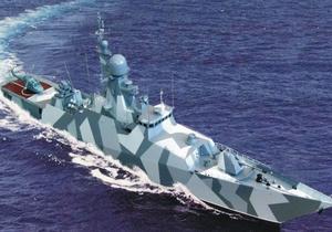 Источник: Кабмин утвердит госпрограмму строительства нового корвета для ВМС в ближайшее время