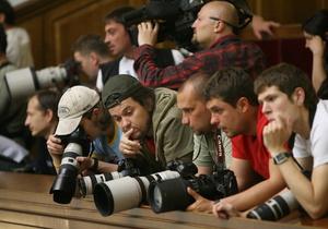 В Украине отменили аккредитацию для иностранных журналистов