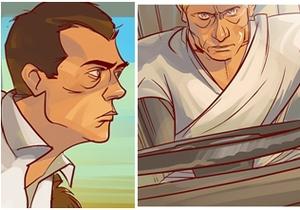 В интернете появился иронический комикс о супергероях, похожих на Путина и Медведева