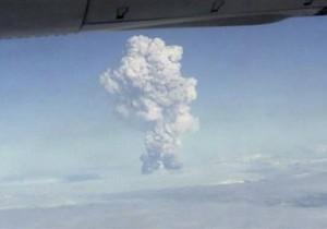 В Исландии снова началось извержение вулкана