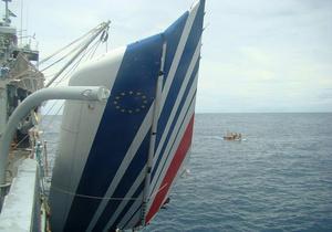 Со дна Атлантики подняли 75 тел пассажиров лайнера, разбившегося в 2009 году