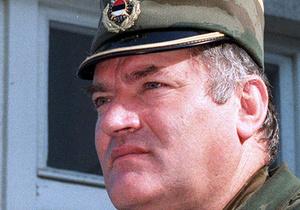 Стала известна дата, когда Младич впервые предстанет перед Гаагским трибуналом