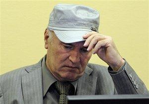 Младич пригрозил трибуналу голодовкой