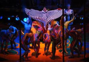 В Украине впервые выступит легендарный Cirque du Soleil