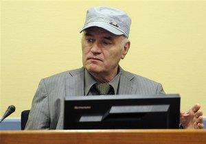 В МТБЮ заявили, что врачи не могут подтвердить слухи о тяжелом состоянии Младича