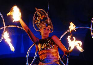 В Киеве покажут юбилейное огненное шоу с участием европейских звезд