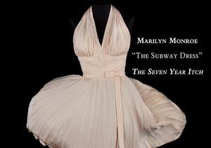 Платье Мэрилин Монро продали на торгах за $4,6 миллионов