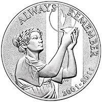В США показали медаль к десятилетию терактов 11 сентября