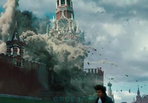 В четвертой части фильма Миссия невыполнима террористы взрывают Кремль