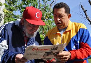 Фидель Кастро рассказал о состоянии здоровья Уго Чавеса
