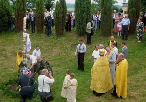 На Волыни почтили казаков, прикрывавших войска Хмельницкого при поражении под Берестечком