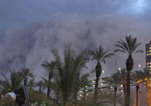 Фотогалерея: Сделано в США. Аризону накрыла сильнейшая песчаная буря