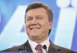 Янукович назвал образ казака Мамая символом борьбы за родную землю