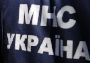 В Черкасской области упал и взорвался мотодельтаплан