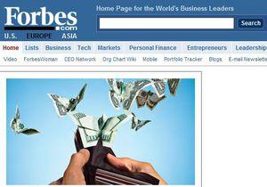 Осенью в Украине появится журнал Forbes. Woman