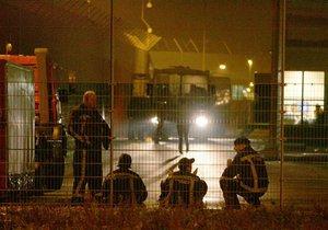 В Нидерландах из-за пожара обрушилась телебашня