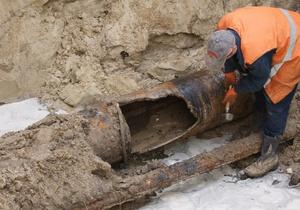 Власти разработают проект канализационной системы на островах Киева