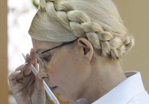Тимошенко выслушала свой приговор