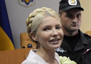 Тимошенко в суде назвали Натальей Михайловной