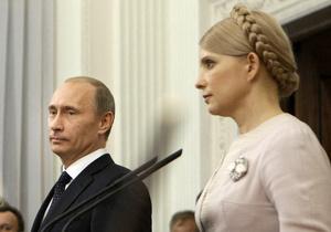 В рамках дела Тимошенко Путина допрашивать не будут