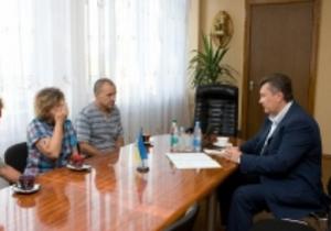 Янукович встретился с родными погибших на шахте Суходольская-Восточная