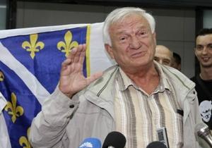 Бывший боснийский генерал Дивяк вернулся из Вены в Сараево