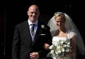 Онучка британської королеви вийшла заміж за регбіста